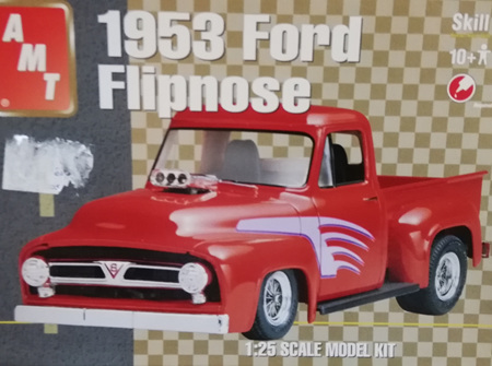 AMT 1/25 1953 Ford Flipnose