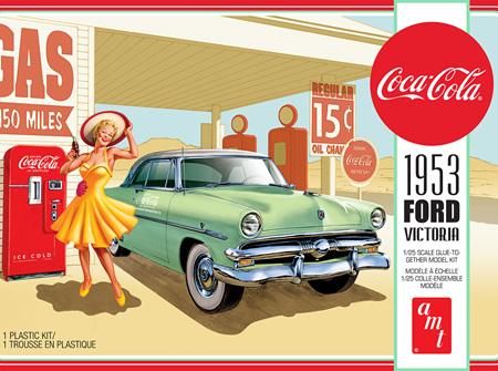 AMT 1/25 1953 Ford Victoria w/ Coca-Cola Vending Machine (AMT1146)