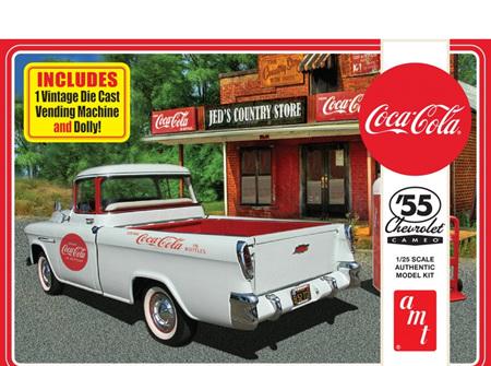 AMT 1/25 1955 Chevy Cameo Coca Cola (AMT1094)
