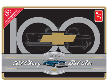 AMT 1/25 1957 CHEVY BEL AIR CENTENNIAL COLLECTOR TIN