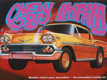 AMT 1/25 1958 Chevy Impala