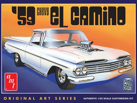 AMT 1/25 1959 Chevy El Camino