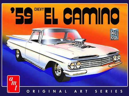 AMT 1/25 1959 Chevy El Camino (AMT1058)