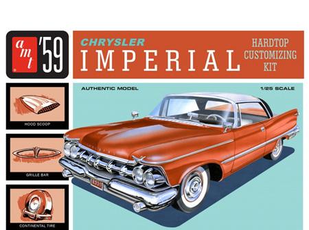 AMT 1/25 1959 Chrysler Imperial Hardtop (AMT1136)