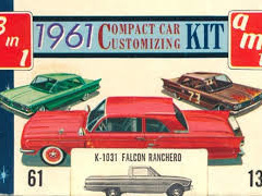 AMT 1/25 1961 Compact Car Customizing Kit - Falcon Ranchero