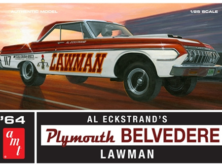 AMT 1/25 1964 Plymouth Belvedere Lawman Super Stock (AMT986)