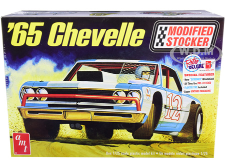 AMT 1/25 1965 Chevelle Modified Stocker (AMT1177)