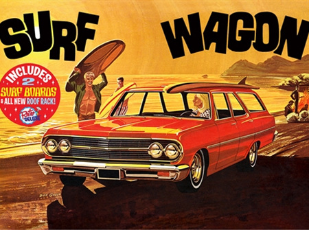 "AMT 1/25 1965 Chevelle ""Surf Wagon"""