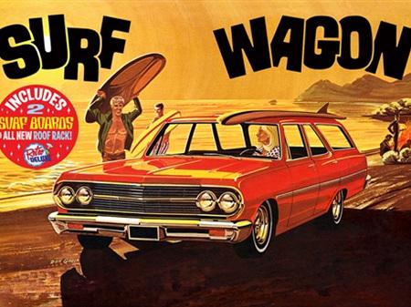 "AMT 1/25 1965 Chevelle ""Surf Wagon"""