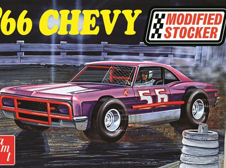 AMT 1/25 1966 Chevy Impala Modified Stocker (AMT1183)