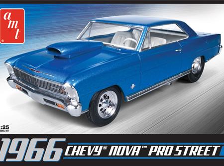 AMT 1/25 1966 Chevy Nova Pro Street (AMT636)