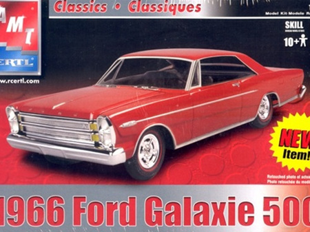 AMT 1/25 1966 Ford Galaxie 500
