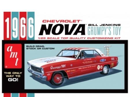 AMT 1/25 1966 Nova Bill Jenkins Grumpys Toy (AMT772)
