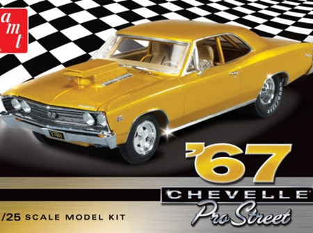 AMT 1/25 1967 Chevy Chevelle Pro Street