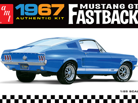 AMT 1/25 1967 Ford Mustang GT Fastback (AMT1241)