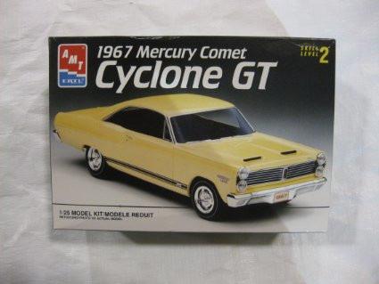 AMT 1/25 1967 Mercury Comet Cyclone GT