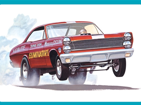 AMT 1/25 1967 Mercury Cyclone Eliminator II (Dyno Don Nicholson)