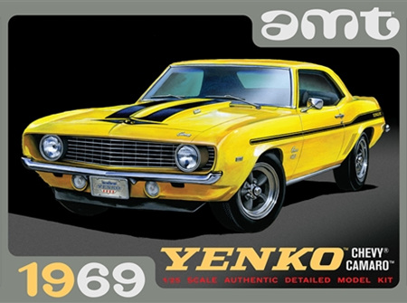 AMT 1/25 1969 Chevy Camaro (Yenko) (AMT1093)