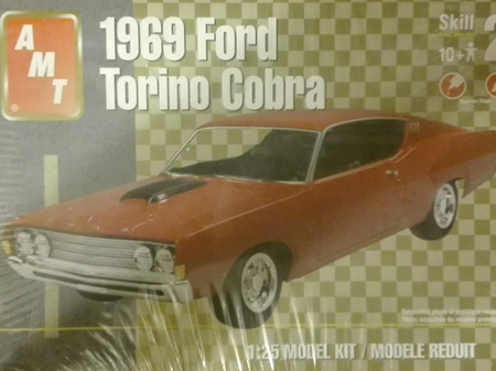 AMT 1/25 1969 Ford Torino Cobra