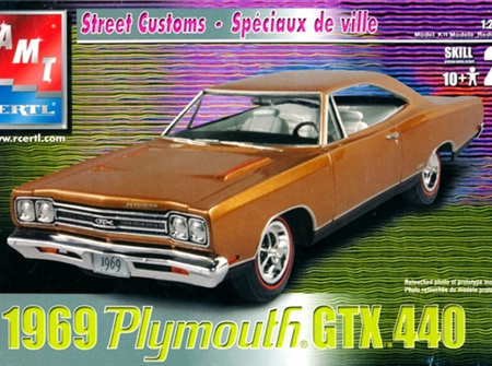 AMT 1/25 1969 Plymouth GTX.440