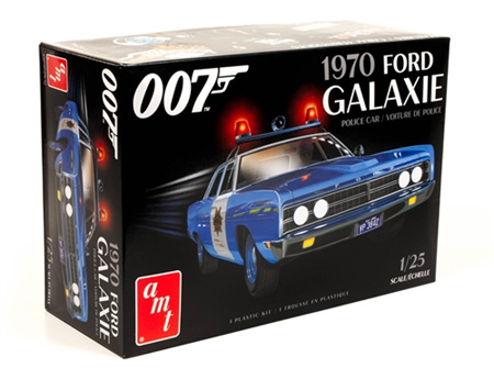 AMT 1/25 1970 Ford Galaxie Police Car (James Bond) (AMT1172)