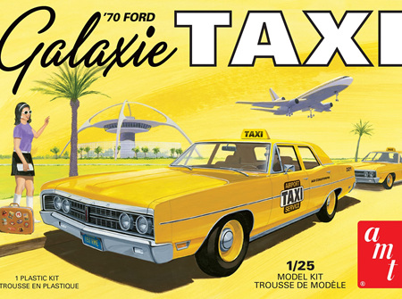AMT 1/25 1970 Ford Galaxie Taxi (AMT1243)
