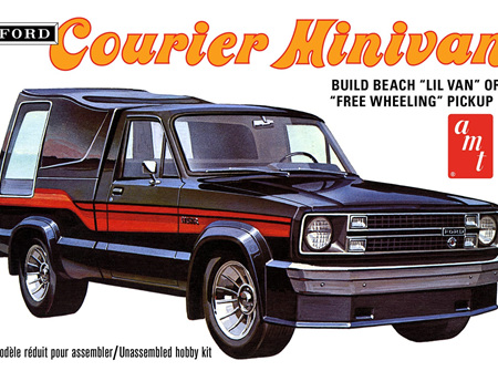AMT 1/25 1978 Ford Courier Minivan 2n1 (AMT1210)