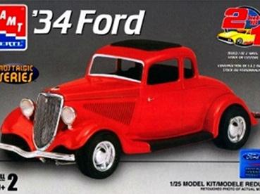 AMT 1/25 34 Ford 2n1
