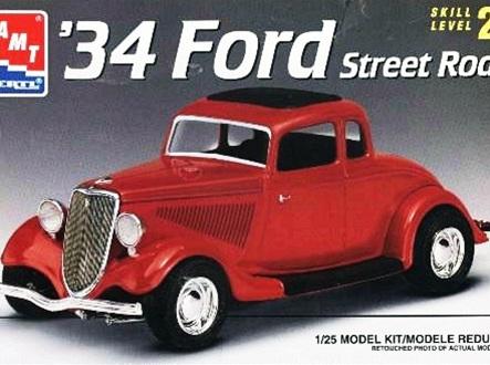 AMT 1/25 34 Ford Street Rod (AMT6686)
