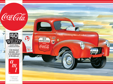 AMT 1/25 40 Willys Pickup Gasser (Coca-Cola) (AMT1145)