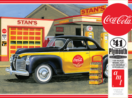 AMT 1/25 41 Plymouth Coupe (Coca-Cola) (AMT1197)