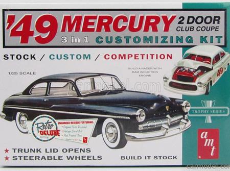 AMT 1/25 49 Mercury 2dr Club Coupe Customizing Kit (AMT654)