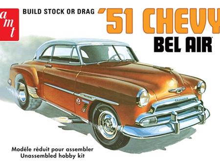 AMT 1/25 51 Chevy Bel Air 2n1 (AMT862)