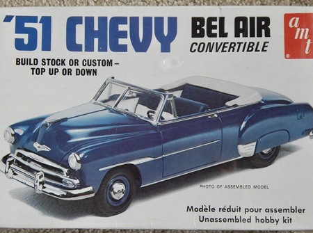 AMT 1/25 51 Chevy Bel Air Convertible (AMT608)