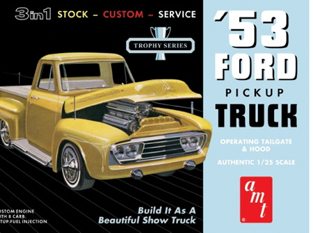 AMT 1/25 53 Ford Pickup Truck 3in1 (AMT882)