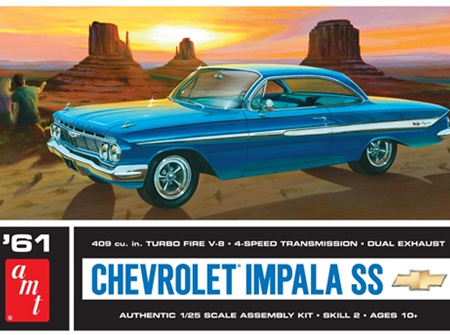 AMT 1/25 61 Chevrolet Impala SS (AMT1013)