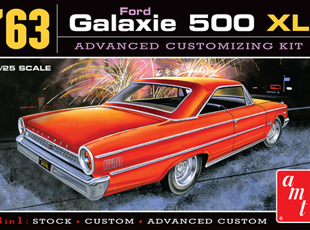 AMT 1/25 63 Ford Galaxie 500 XL 3n1 (AMT1186)
