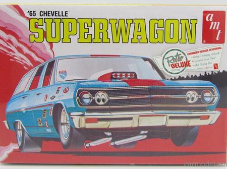 AMT 1/25 65 Chevelle Superwagon (AMT701)