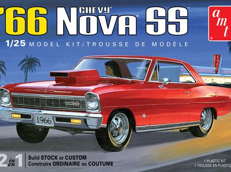 AMT 1/25 66 Chevy Nova SS (AMT1198)