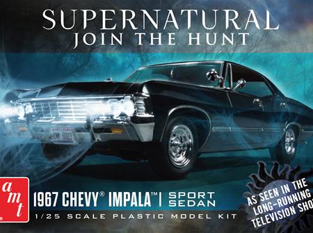 AMT 1/25 67 Chevy Impala 4-Door Supernatural (AMT1124)