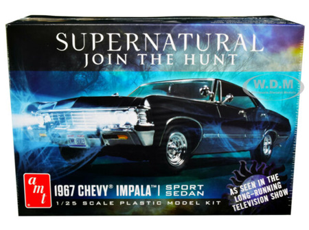 AMT 1/25 67 Chevy Impala 4-Door Supernatural (AMT1124)