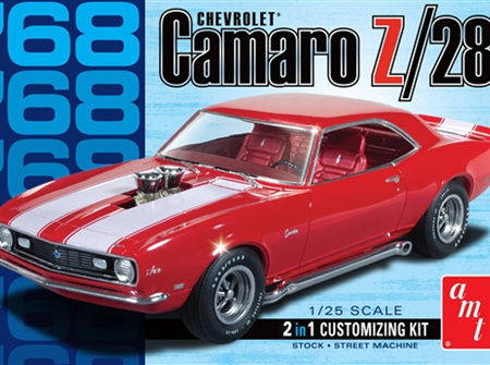 AMT 1/25 68 Chevy Camaro Z/28 (AMT868)