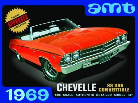 AMT 1/25 69 Chevelle Convertible