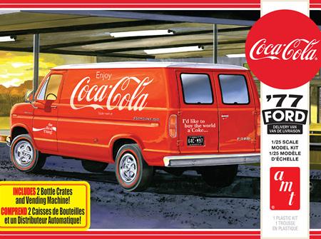 AMT 1/25 77 Ford Delivery Van w/ Coca-Cola Vending Machine (AMT1173)