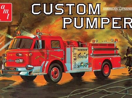 AMT 1/25 American La France Custom Pumper