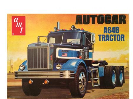 AMT 1/25 Autocar A64B Semi Tractor