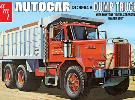 AMT 1/25 Autocar DC9964B Dump Truck