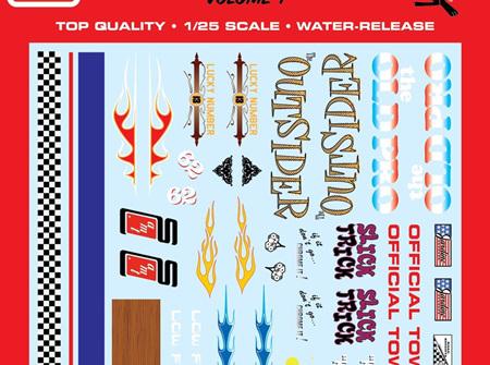 AMT 1/25 Best of AMT Custom Graphics Decals Vol 1 (MKA052)