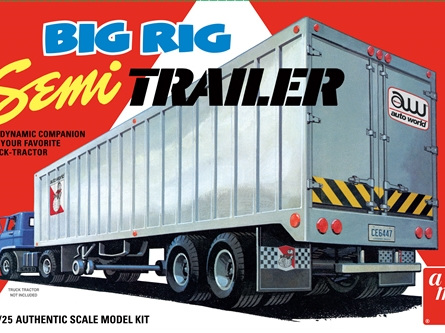 AMt 1/25 Big Rig Semi Trailer