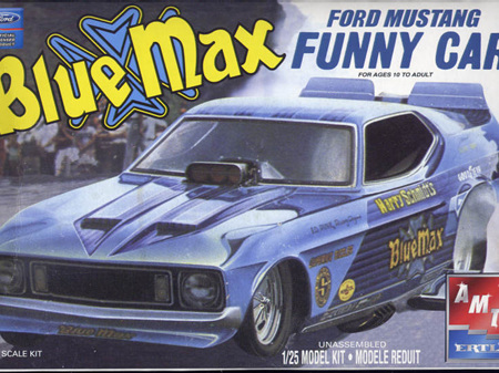 AMT 1/25 Blue Max Ford Mustang Funny Car